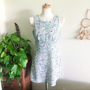 VINTAGE 90's floral mini sundress